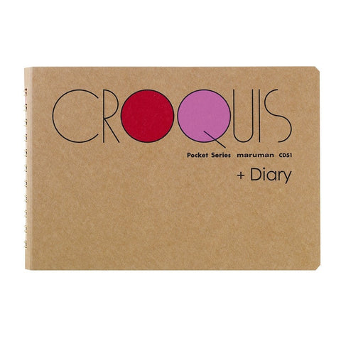 Croquis Diary Sketchbook - Pocket Size