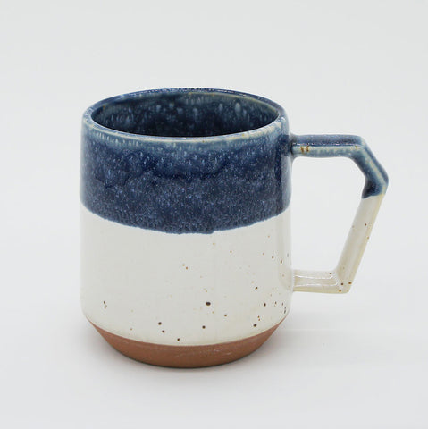 CHIPS Mug Premium White Navy Drop