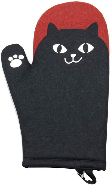 Kitchen Mitt - Black Cat
