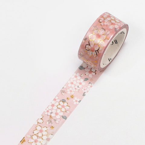 Foil stamping Sakura Washi Tape - 15mm