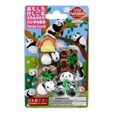 Eraser Set - Panda Family
