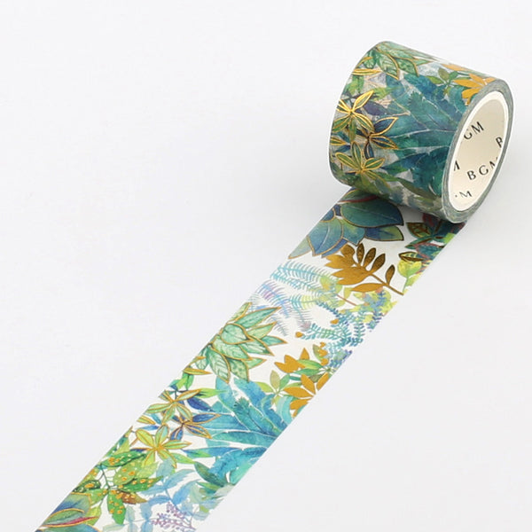 Foil stamping Jungle Washi Tape - 30mm