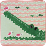 Hand Towel Crocodile Pink