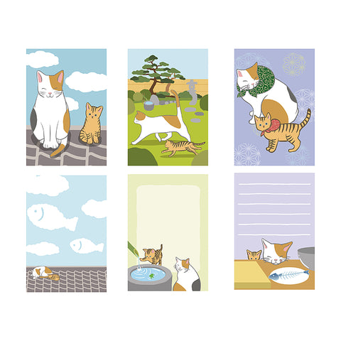 3P Note Pads - Calico Cat