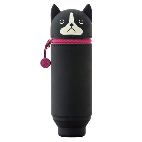 PuniLabo Stand Pen Case - Boston Terrier