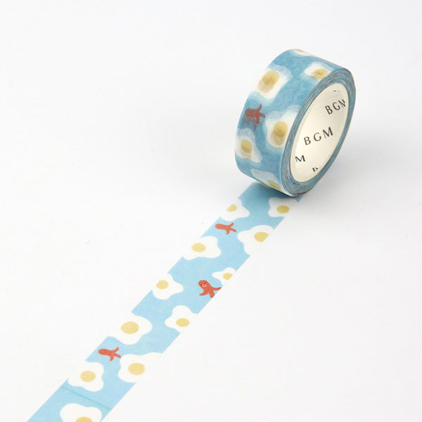 Breakfast Egg Washi Tape - 15mm