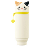 PuniLabo Stand Pen Case - Calico Cat