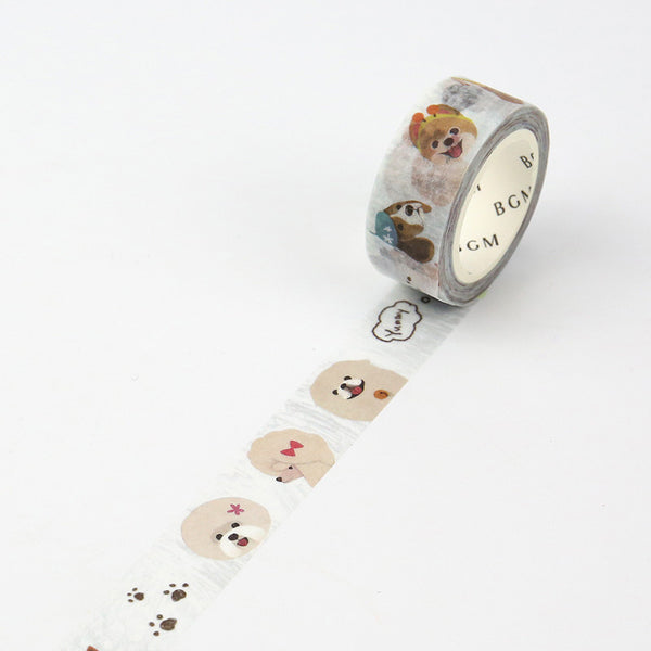 Dogs Washi Tape - 15mm