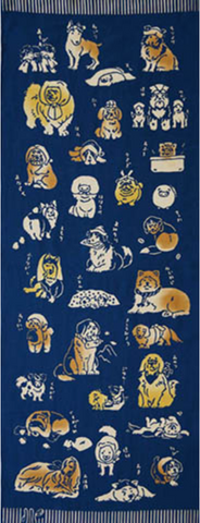 Dog Tenugui Towel