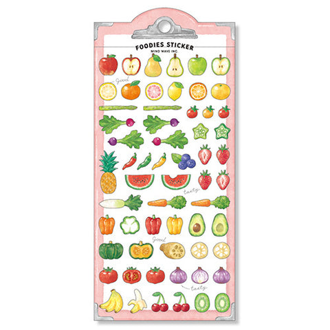 Foodies Fruit Stickers