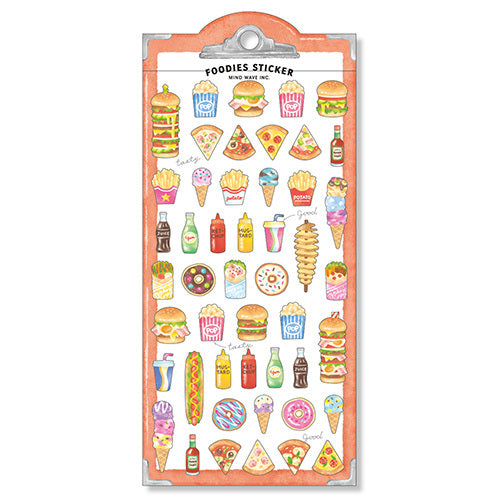 Foodies Junk Food Stickers