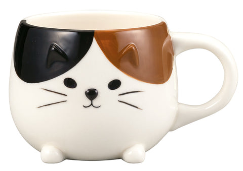 Cat Bum Mug - Calico