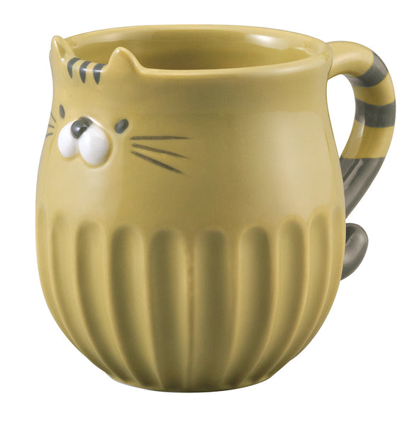 Cat Shinogi Mug - Tora