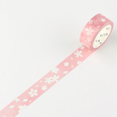 Sakura Snow Washi Tape - 15mm
