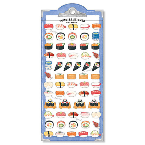 Foodies Sushi Stickers