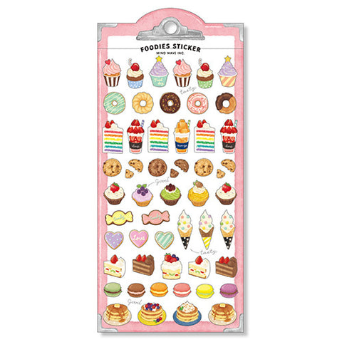 Foodies Sweets Stickers
