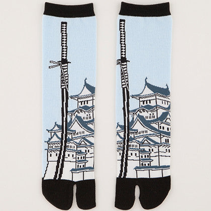 Japanese Sword & Castle Tabi Socks