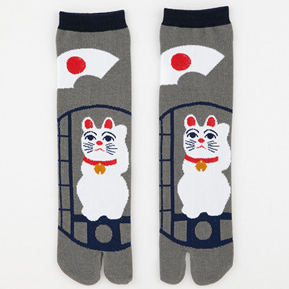 Maneki-Neko Tabi Socks