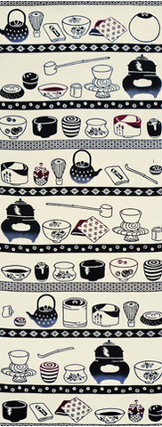 Tea-things Tenugui Towel