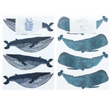 Whale Mini Wrapping Paper