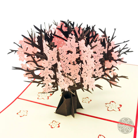 3D Pop-up Card - Cherry Blossom