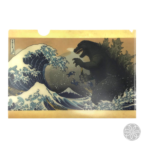 File Case A4 - Great Wave