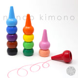 Baby Color Stackable Crayon - 12 Basic Color Set