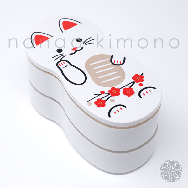 Cat Doll White Bento Box 540ml