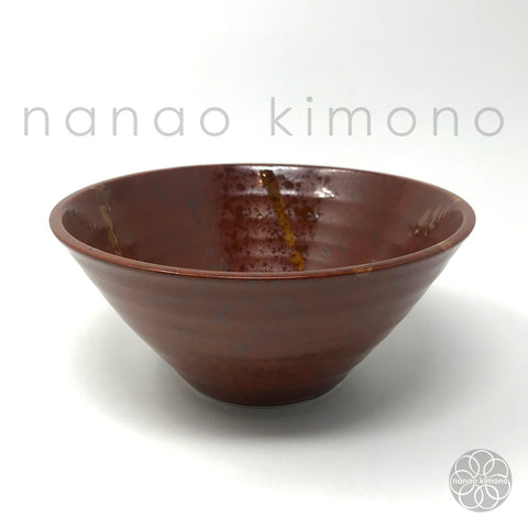 Ramen Bowl - Ayatori Brown Red