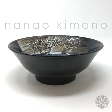 Ramen Bowl - Flying Dragon Black