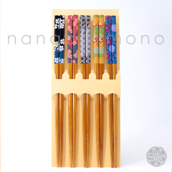 Five pairs of chopsticks - Four Seasons