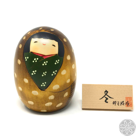 Kokeshi Doll - Winter