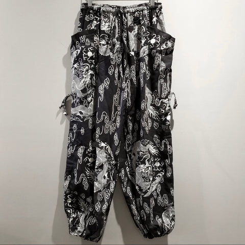 Comfy Pants - Black Dragon Cloud