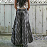 Wide Leg Pants - Flower of Life