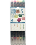 SAI Watercolour Brush Pen - 5 Colour Set Luster