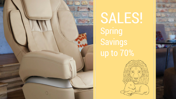 Forget the Lion & Lamb - Find Your Massage Chair!