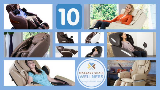 Top 10 Massage Chairs 2018