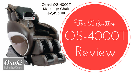 Osaki OS-4000T Massage Chair Review [2018]