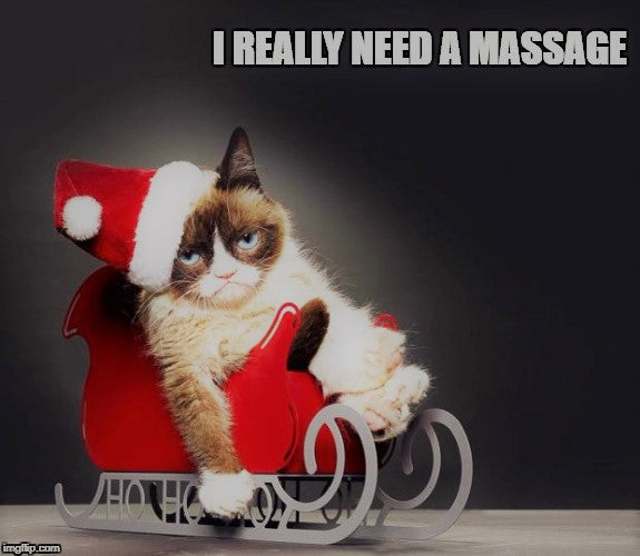 Holiday Stress:  How to Beat It With Massage