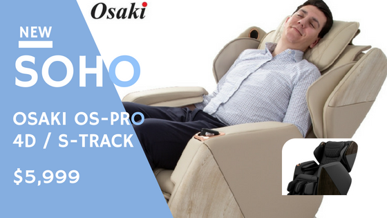 Introducing Osaki OS-Pro Soho Massage Chair