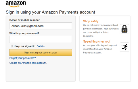 Amazon Payment Gateway