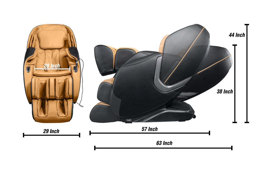 Aster Massage Chair Specifications