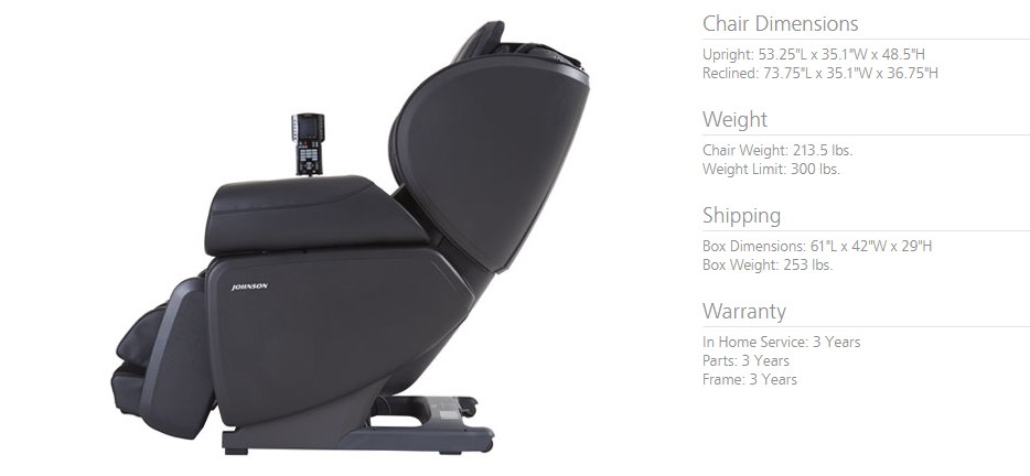 J6800 Specs  sc 1 st  Massage Chairs Give Back : weight chair - Cheerinfomania.Com