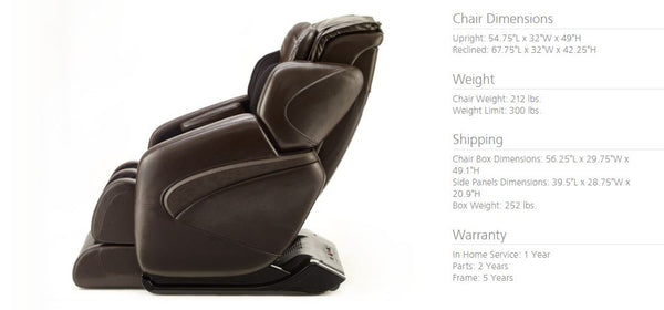 Jin Massage Chair Specs