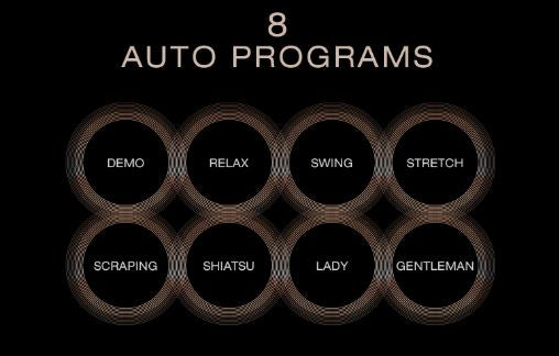 Maestro Massage Chair Auto Programs