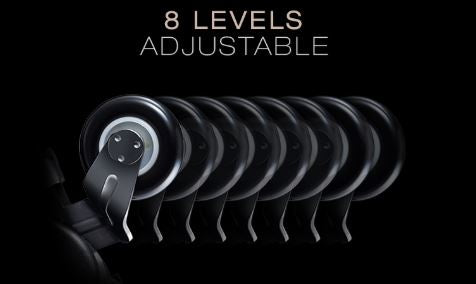 Maestro Massage Chair 8 Level Roller Adjustment