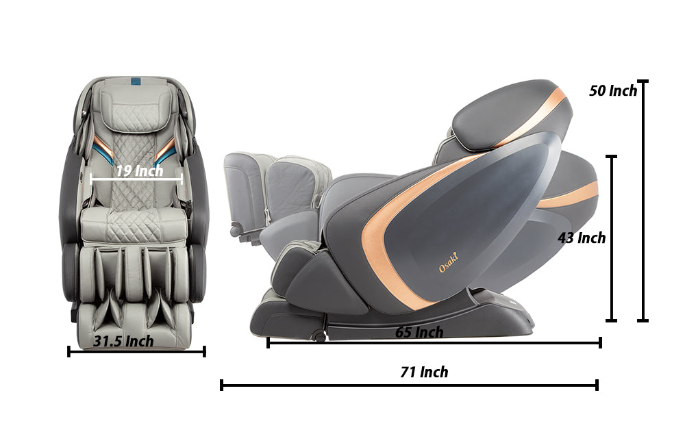 Osaki OS-Pro Admiral 3D L-Track Massage Chair