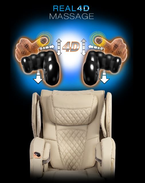 Soho Massage Chair 4D Mechanism