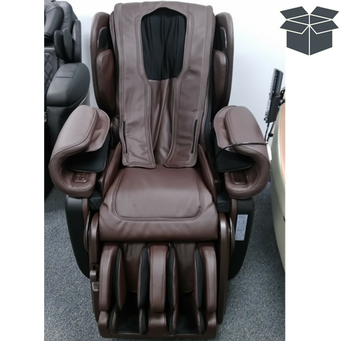 Synca Kagra 4D Massage Chair Brown Used (1567264473178)