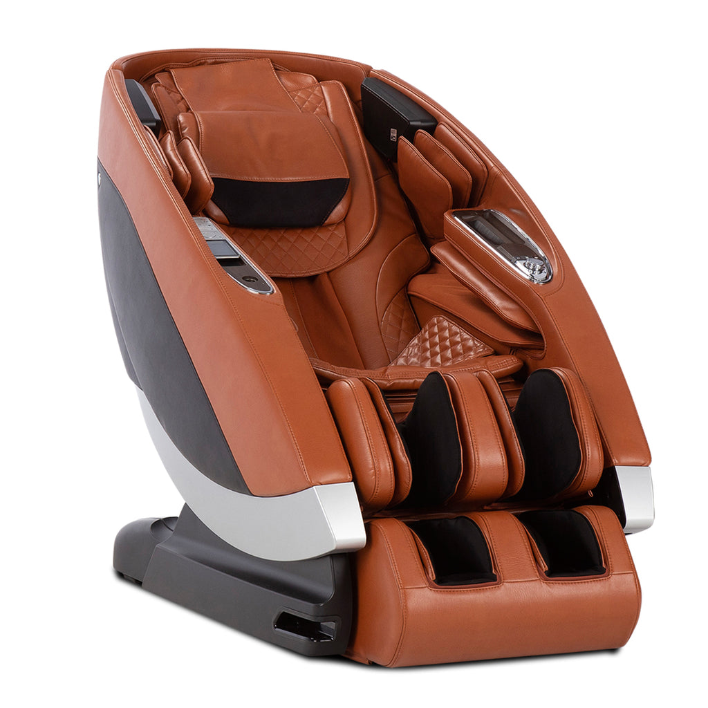 Human Touch Super Novo Massage Chair in Caramel